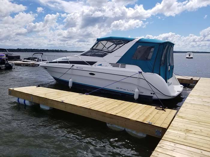 1994 Bayliner 3055 rev